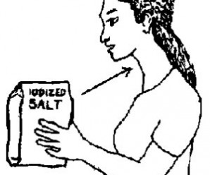 Question: I was diagnosed as thyroid nodules, must I only take non iodized salt?